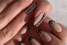 Nail ideas.  / I have long nails & I'm always looking for good ideas for paint jobs for them, so this is where I'll pin them.