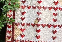 Valentines day quilts