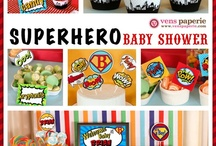 Baby Shower (Super Hero)