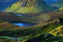 Scotland, Irland, England