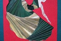 Iris Folding / projects using the iris folding technique