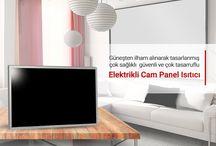 Elektrikli Cam Panel Isıtıcı Sistemleri