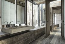 Bathroom design inspiration / It's a bathroom design collection that impressed us.