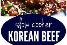 Korean food recipes