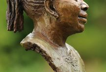 Bronze Sculpture - Portrait Bust of Marie