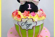 Pour les petites filles / CupSiCake créé des gâteaux pour les petites princesses, les petites danseuses et en fait des reines d'un jour.
