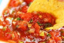 SALSAS / Try our Carmelina 'e…San Marzano® Italian Tomatoes for these tasty salsa recipes!