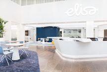 Elisa Oyj Head Office / Head Office of Elisa Oyj in Helsinki, designed by Kohina.