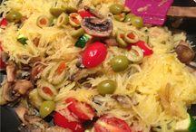 vegetarian meal ideas / by Roxanne Mathiason