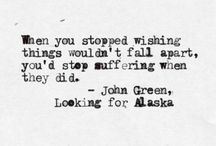 Quotes / Looking for Alaska