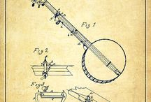 Patent Art / This is one of our favorite decor trends. Enjoy!