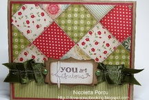 Quilted cards / by Sandy Carlson, Stampin' Up Demonstrator