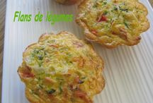 Muffins légumes mozzarella