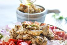 antipasto chopped chicken salad