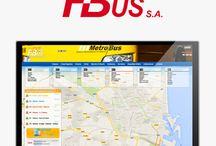Diseño Web Fernanbus / Diseño de la nueva página web de la empresa de autobuses Fernanbus S.A.