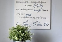 decorating my home / by April Lunden