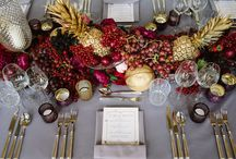 AYNHOE PARK TABLESCAPES