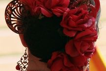 Flamenco fejdísz