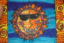 2nd Grade Art / by C Mae