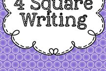 4 Square Writing / Great ways to teach kids to write.