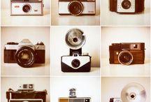 I Heart vintage cameras / by Pamela Ezell