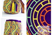 Tapestry haken/wayuu mochila
