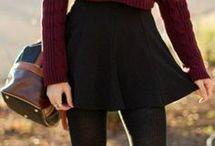 faldas cortas otoño invierno