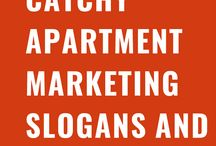 Apartment Marketing Slogans and Taglines
