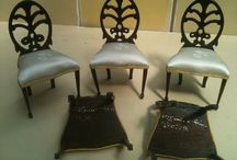 Miniature dining chairs