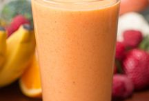 Veggie and fruit smoothies