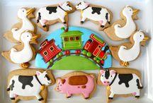 Birthday Cookies for Boys