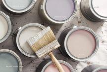 Paint color lines