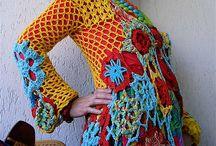 Fri hækling / Freeform crochet