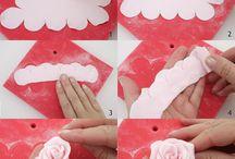 rosas con molde