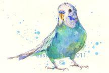 Watercolour Animals