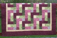 Mystic Garden Quilt / The inspiration for Mystic Garden was summertime: the colors, the sense of warm, lazy afternoons and a feeling just enjoying the day.