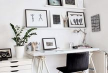 INSPIRATION | Home Office / Ideas for Scandi Home Office.  For more inspiration : http://fabel.io/BlogPIN