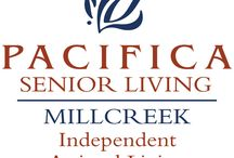 Pacifica Senior Living Millcreek / Don't settle for ordinary. Escape to Pacifica Senior Living Millcreek, a Salt Lake City senior living community offering independent living and assisted living care, all designed for discerning individuals who expect more out of life.