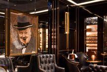 Cigar Shisha bar lounge room