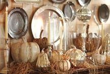 Thanksgiving Decor and Menu