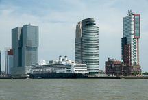 Cruise ships in Rotterdam