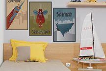 Heróis Marvel / Eles chegaram ao Mudo Minha Casa para deixar sua decoração mais bonita e divertida! Acesse nossa loja e veja todos os modelos: www.mudominhacasa.com.br