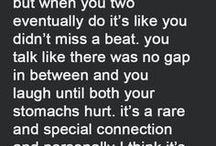 Relationships or friendships