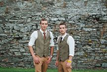 tenue mariage homme champetre