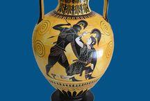 Ancient Greece / Beautiful replicas of ancient Greek artefacts.