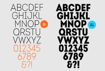 free fonts and abc's / by Denise Emma