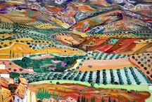 Rafael Zabaleta / Obras de Rafael Zabaleta. (Quesada, Jaén, 1907-1960) Pintor español expresionista en sus inicios que derivó hacia un estilo picassiano.