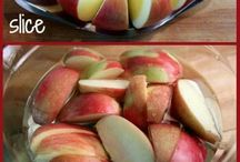 receipe and apple