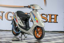 Honda scooter proyecto drag