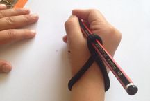 Pencil Grip / Use these pictures to see the different stages of pencil grips. Discover activities and teaching ideas, suitable​ for home and schools.